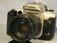 '   35-105mm Canon EF + EOS 55 NICE SET ' Canon EOS 55 SLR Camera + 35-105mm Lens -MINT-  £49.99